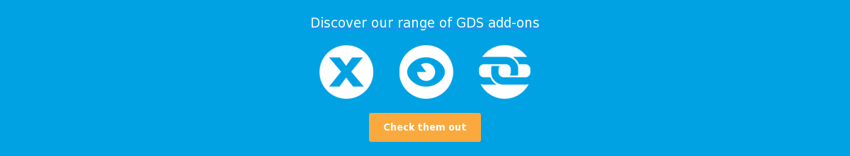 Discover our range of GDS add-ons Check them out